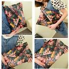 Womens Envelope Clutch Chain Purse Lady Handbag Tote Floral Shoulder Hand Bag