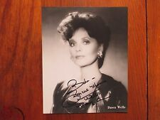 "DAWN WELLS (""Mary Ann/Gilligan's Island"")Signed  8 x 10  Black and White  Photo"