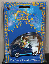 DISNEY THEME PARK COLLECTION TOY STORY PARADE BUZZ WOODY DIE CAST METAL VEHICLE