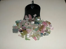 Tourmaline crystal rough gem mix parcel over 100 carats