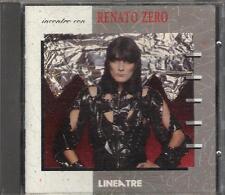 """RENATO ZERO - RARO CD FUORI CATALOGO 1991 """" INCONTRO CON RENATO ZERO """""""