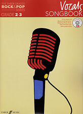 THE FABER ROCK & POP SERIES VOCALS GRADE 2-3 SONGBOOK WITH CD