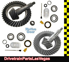 """Ford 9.75"""" & 8.8"""" IFS 4.56 Ratio Ring and Pinion Gear Set Pkg w PK Install Kits"""