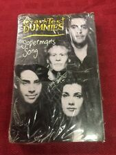 Crash Test Dummies Single Cassette Superman's Song/The Voyage 1991 Arista Sealed