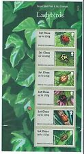 GREAT BRITAIN 2016 POST AND GO LADYBIRDS IN PACK UNMOUNTED MINT, MNH