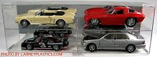Kyosho Diecast Display Case 1/18th Scale 4 car Horizontal
