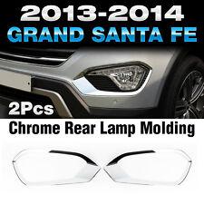 Chrome Fog Lamp Molding Trim For HYUNDAI 2013 - 2016 Grand SantaFe / Maxcruz