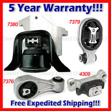 M180 Fits 2011-2016 Nissan Juke 1.6L 2WD Engine Motor Mount Set 4pcs
