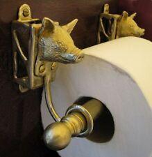 PIG Bronze Toilet Paper Holder OR Paper Towel Holder!