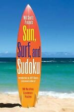 Sun, Surf, and Sudoku : 100 Wordless Crossword Puzzles by Will Shortz (2008,...