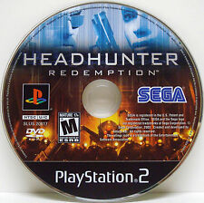 Headhunter: Redemption for Sony PlayStation 2 PS2 *DISC ONLY* Polished/Works