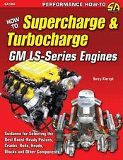 How to Supercharge and Turbocharge GM LS-Series Engines Book~chevy-chevrolet~NEW