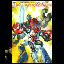 MICRONAUTS #1 Retailer Incentive 1:25 VARIANT Casey Coller IDW NM!