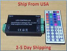 12V-24V DC 48A 432W 44Key IR Remote Controller For RGB LED Strip 5050 3528 SMD
