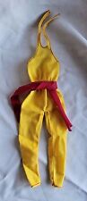 1981 MY FIRST BARBIE FASHIONS #3674 YELLOW JUMPSUIT superstar era clothes
