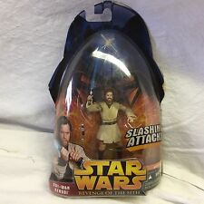 Star Wars Return of the Sith Action Figure of Obi Wan Kenobi shelf#D6