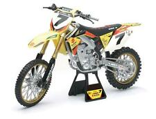 James Stewart Suzuki RMZ 450 New Ray Toys Dirt Bike 1:6 Scale Motorcycle Kids