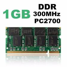 NEW 1GB DDR-333 MHZ PC2700 CL2.5 Non-ECC 200-PIN SODIMM LAPTOP MEMORY RAM UK