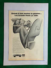 (AM7) Pubblicità Advertising Werbung Clipping - UNIROYAL GOMME AUTO CAR