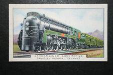 Canadian National Railways   Streamlined Loco     Vintage Card # VGC
