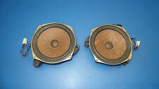 98-02 Toyota Corolla OEM rear speakers STOCK factory x2 part # 86160-02141