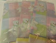 BABY SHOWER Party pink girl TABLECOVER Birthday Decoration blue Tablecloth BEAR
