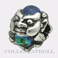 Authentic TrollBeads Silver Glass Trolls Bead TrollBead 61707