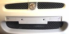 MGF FRONT BUMPER GRILL SET. POLISHED WOVEN STAINLESS STEEL. BRAND NEW