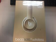 Sealed Beats Dr. Dre Solo2 Wireless Bluetooth Headphones Gold Special Edition