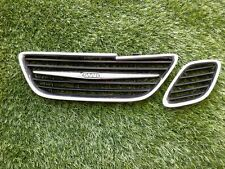 2003-2007 SAAB 93 9-3 FRONT CENTER GRILL CHROME W/ONE SIDE OEM