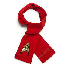 HTNU-RD-ST: Star Trek The Original Series Scarf, Operations Division, Red