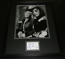 Alice Cooper Signed Framed 16x20 Photo Display The Snoop Sisters