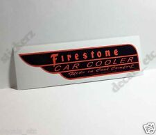Thermador / Firestone Car Cooler Sticker, evaporative swamp cooler decal