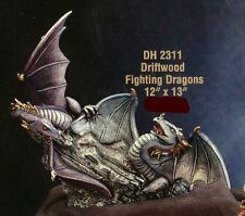 *Doc Holliday Ceramic Drift Wood Battle Dragons Ready to Paint*
