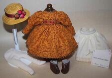 """8"""" Madame Alexander MA outfit tagged ANNE OF GREEN GABLES w/hat"""
