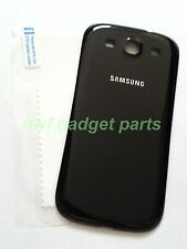 OEM  Samsung Galaxy S3 Battery Back Door i9300 i535 T999 L710 i747+ S/P~BLACK~US