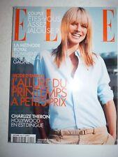 Magazine mode fashion ELLE French #3040 avril 2004 Heidi Klum