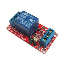 Reliable 12V 1 channel relay module optocoupler High and low level trigger  IO