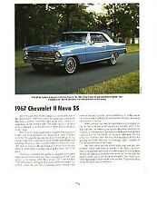 1967 Chevy Nova SS 327 Article - Must See !!