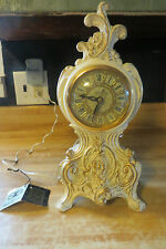 Vtg.ornate victorian electrical working United clock corp.model 82 working clock