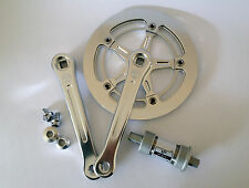 Vintage Classic Retro Bicycle Crankset