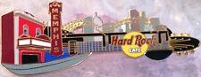 Hard Rock Cafe MEMPHIS 2002 City Guitar PIN Bridge & Skyline HRC Catalog #15336