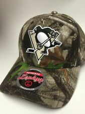 Zephyr NHL Pittsburgh Penguins SnapBack Cotton Camo Cap Hat Stitched  New