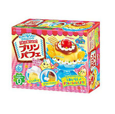 kracie popin cookin happy kitchen Japanese candy making kit Pudding parfait hot