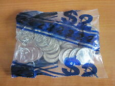 2014  5 cent coins, UNC bank bag of 40 coins