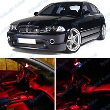 Brilliant Red Interior LED Package For BMW 3 Series E46 1999-2005(9 Pieces)#439