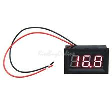 0.56'' LCD DC 3.2-30V Red LED Panel Digital Voltmeter Volt Meter with Two wires