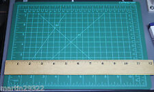 "Hard Rubber Self-Healing Cutting Mat 11-3/4"" x 8+"" for Photo Trimming or Crafts"