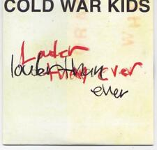 COLD WAR KIDS - rare CD Single - Europe - Promo