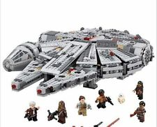 "Star Wars Millennium Falcon ""Lego Compatibile"" - 75105 05007 - 1381 pezzi"